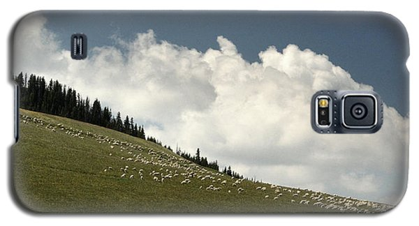 Galaxy S5 Case featuring the photograph His Pastures.. by Al  Swasey