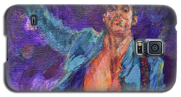 His Purpleness - Prince Tribute Painting - Original Art Galaxy S5 Case