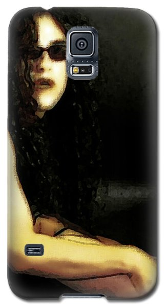 Hispanic Model Art 1 Galaxy S5 Case
