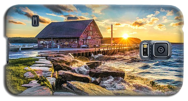 Historic Anderson Dock In Ephraim Door County Galaxy S5 Case