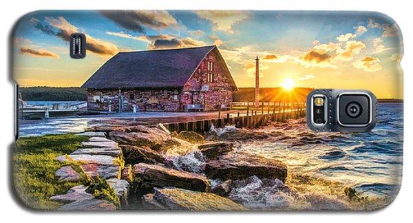 Historic Anderson Dock In Ephraim Door County Galaxy S5 Case