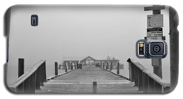 Historic Anna Maria City Pier In Fog Infrared 52 Galaxy S5 Case
