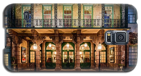 Galaxy S5 Case featuring the photograph Historic Dock Street Theatre by Carl Amoth