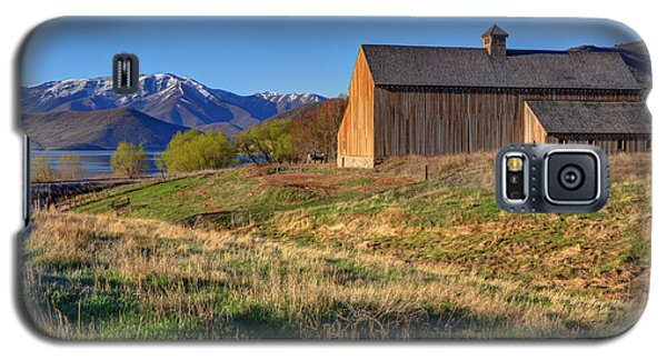Historic Francis Tate Barn - Wasatch Mountains Galaxy S5 Case