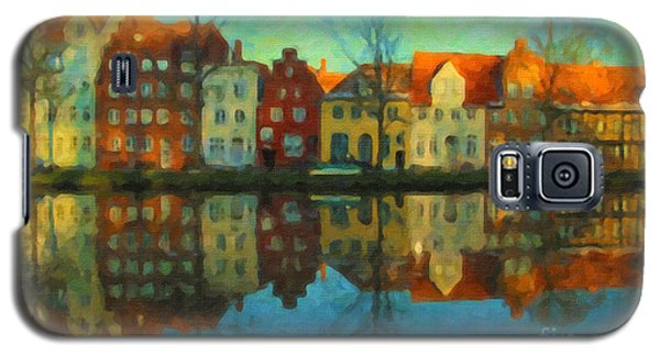 Historic Old Town Lubeck Galaxy S5 Case by Chris Armytage