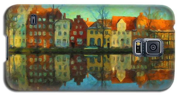 Historic Old Town Lubeck Galaxy S5 Case
