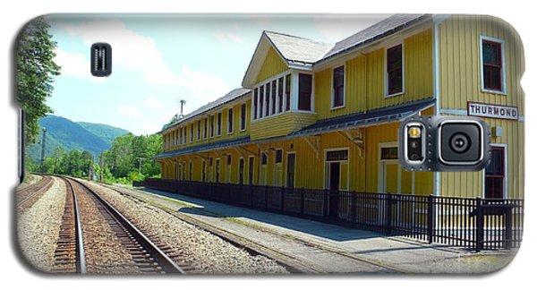 Historic Passenger Train Depot Thurmond West Virginia Galaxy S5 Case