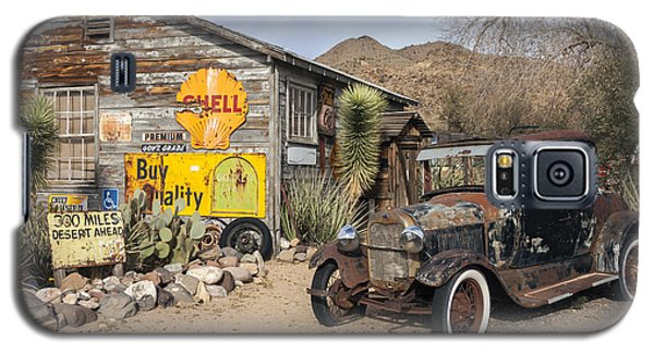 Historic Route 66 - Old Car And Shed Galaxy S5 Case