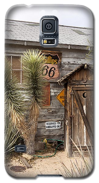 Historic Route 66 - Outhouse 1 Galaxy S5 Case