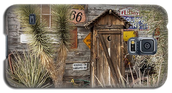 Historic Route 66 - Outhouse 2 Galaxy S5 Case