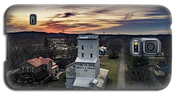 Historic Sunset Galaxy S5 Case