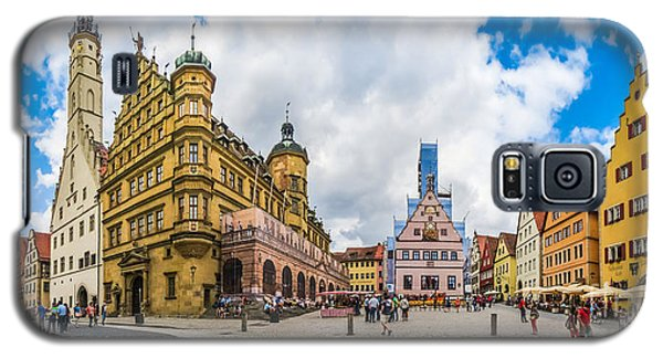 Historic Townsquare Of Rothenburg Ob Der Tauber, Franconia, Bava Galaxy S5 Case