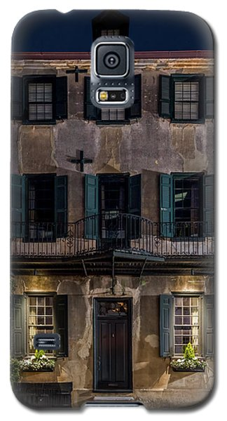 Galaxy S5 Case featuring the photograph Historic William Vanderhorst House, Charleston by Carl Amoth