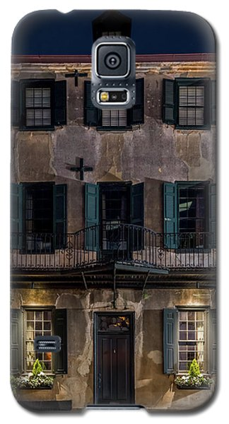 Historic William Vanderhorst House, Charleston Galaxy S5 Case by Carl Amoth