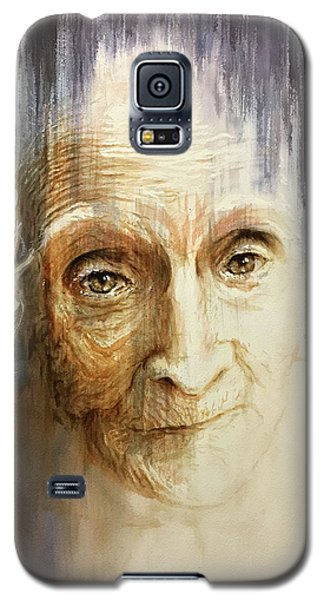 Galaxy S5 Case featuring the painting Histories And Memories Of Ancestral Light 3 by J- J- Espinoza