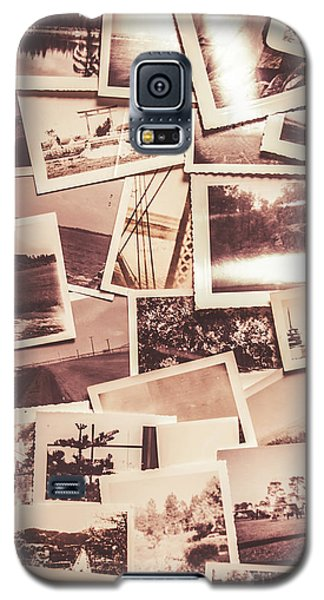 History In Still Photographs Galaxy S5 Case