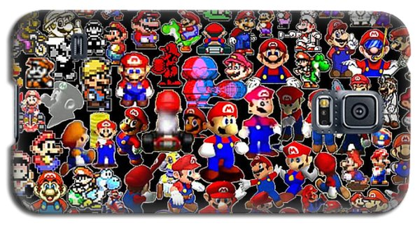 History Of Mario Mosaic Galaxy S5 Case