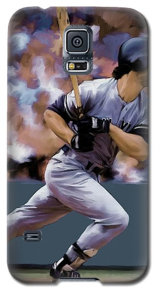 Hit Man  Don Mattingly  Galaxy S5 Case by Iconic Images Art Gallery David Pucciarelli