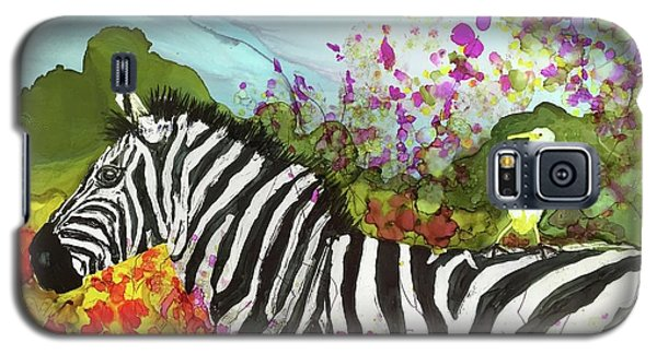 Hitching A Ride Galaxy S5 Case by Suzanne Canner