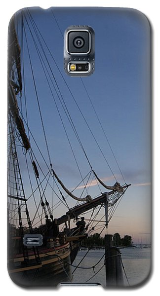 Hms Bounty Ship - Sunset At The Cove Galaxy S5 Case by Margie Avellino