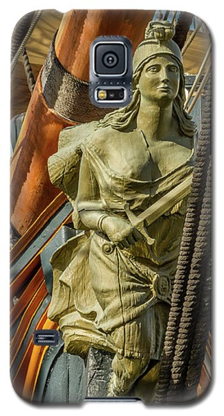 Galaxy S5 Case featuring the photograph Hms Surprise by Bill Gallagher