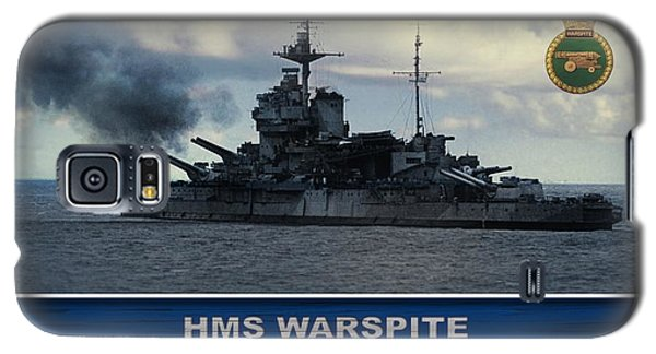 Galaxy S5 Case featuring the digital art Hms Warspite by John Wills