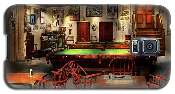 Hobby - Pool - The Billiards Club 1915 Galaxy S5 Case by Mike Savad