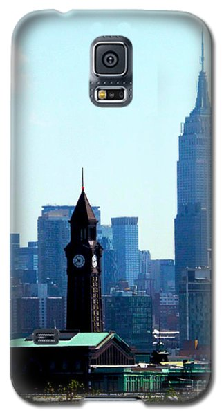 Hoboken And New York Galaxy S5 Case by James Aiken