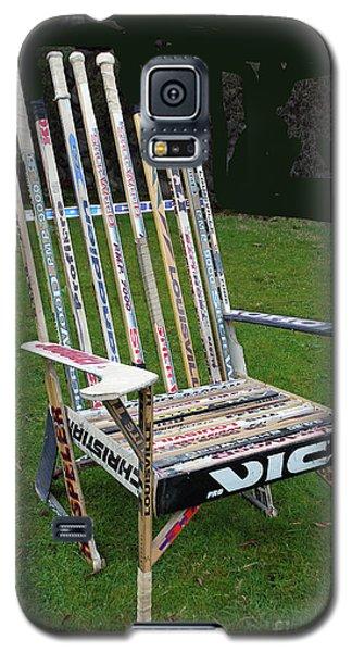 Hockey Stick Chair Galaxy S5 Case