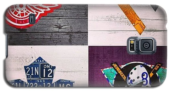 Sport Galaxy S5 Case - #hockey Time!  #pittsburgh #penguins by Design Turnpike