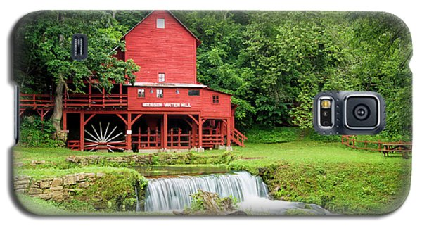 Galaxy S5 Case featuring the photograph Hodgson Water Mill by Cricket Hackmann