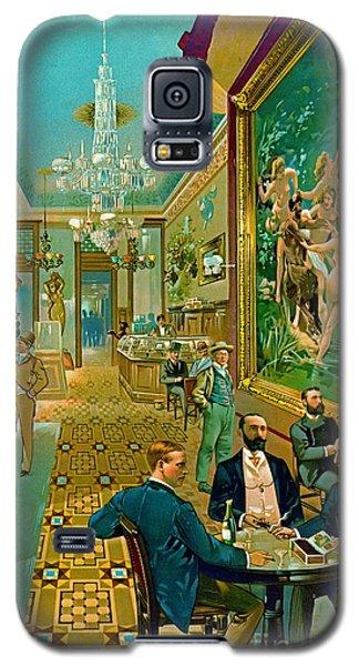 Hoffman House Bar 1890 Galaxy S5 Case by Padre Art