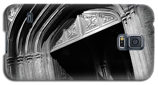 Galaxy S5 Case featuring the mixed media Hogwards Door  by Gina Dsgn