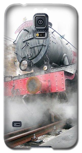 Galaxy S5 Case featuring the photograph Hogwarts Express Train by Juergen Weiss