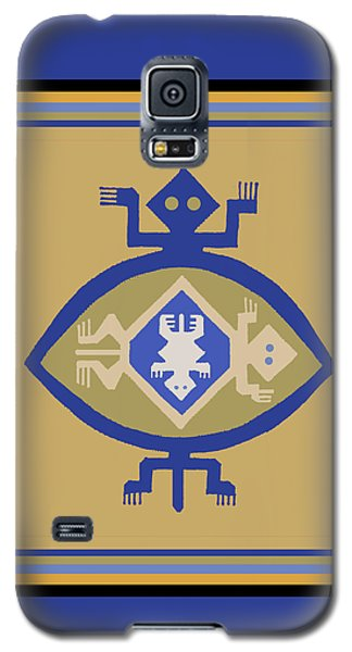 Hohokam Mimbres Turtle Family Galaxy S5 Case