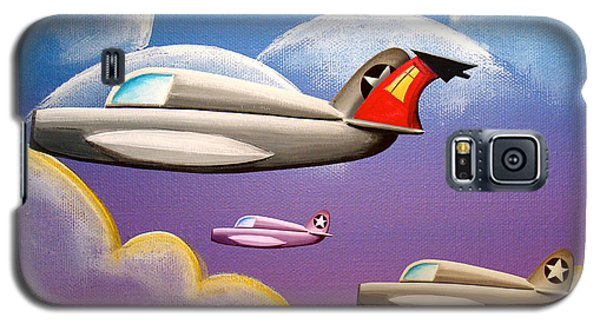 Airplane Galaxy S5 Case - Hold On Tight by Cindy Thornton
