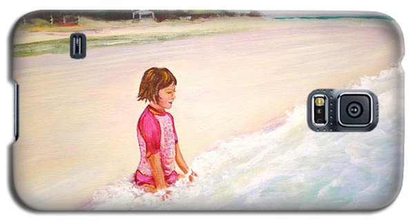 Holding The Ocean Galaxy S5 Case by Patricia Piffath