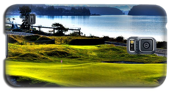 Hole #17 At Chambers Bay Galaxy S5 Case
