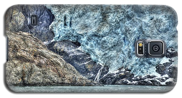 Holgate Glacier Hdr Galaxy S5 Case by Richard J Cassato