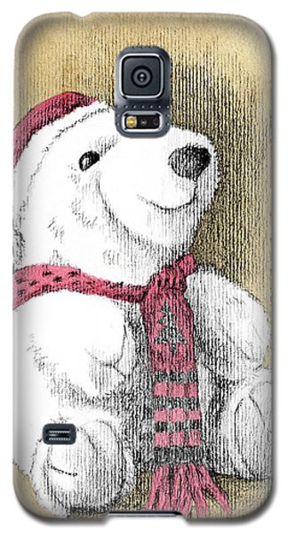 Holiday Bear Card Galaxy S5 Case