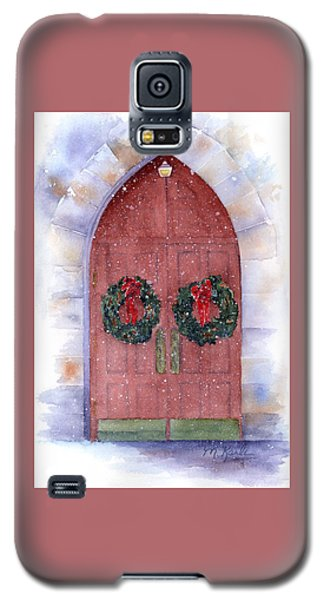 Holiday Chapel Galaxy S5 Case