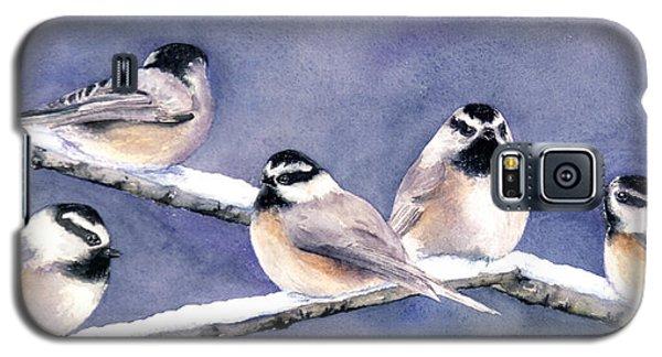Holiday Chickadees Galaxy S5 Case