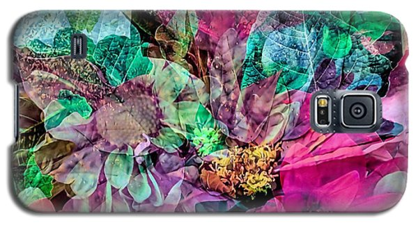Holiday Floral Composite Galaxy S5 Case by Janice Drew