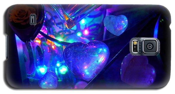 Holiday Hearts Galaxy S5 Case