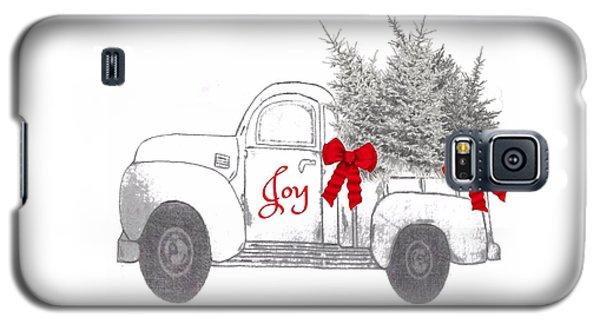 Holiday Joy Chesilhurst Farm Galaxy S5 Case