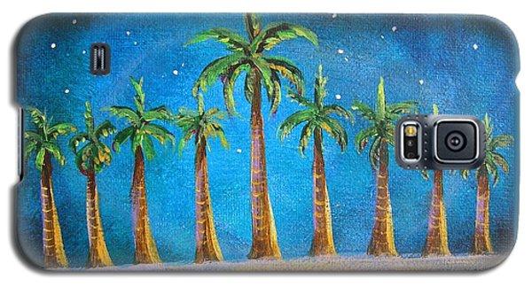 Holiday Palms Galaxy S5 Case