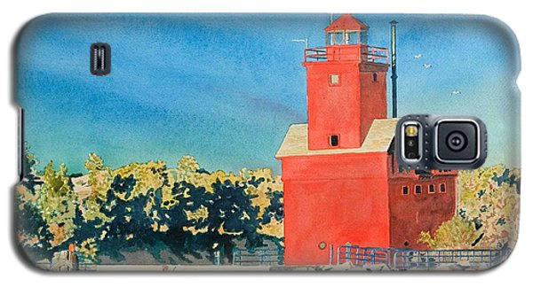 Holland Lighthouse - Big Red Galaxy S5 Case