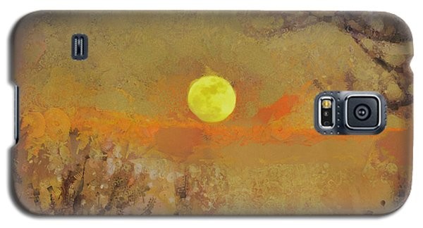 Galaxy S5 Case featuring the mixed media Hollow's Eve by Trish Tritz