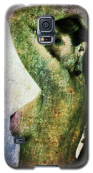Galaxy S5 Case featuring the digital art Holly 2 by Mark Baranowski