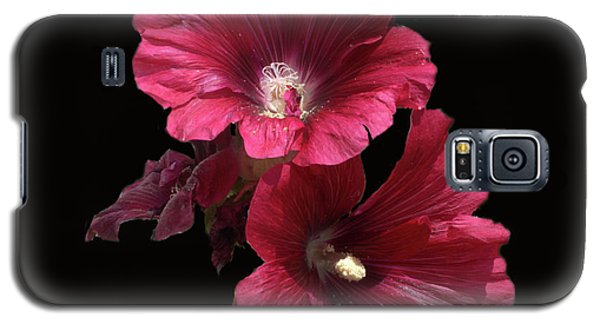 Hollyhock Glory Galaxy S5 Case